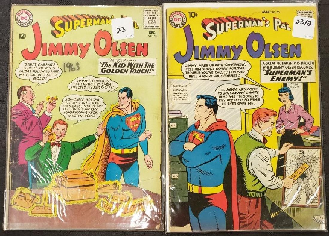 "Lot of Two DC Superman National Comics ""Superman's Pal"