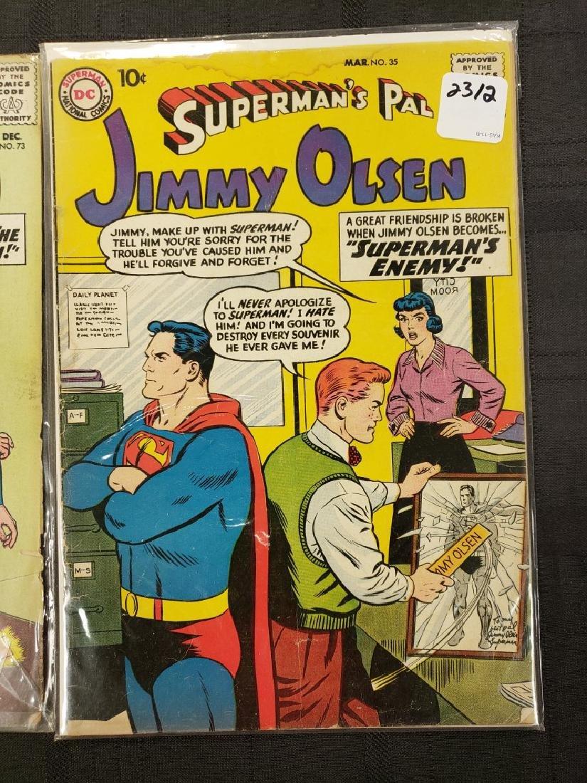 "Lot of Two DC Superman National Comics ""Superman's Pal - 2"