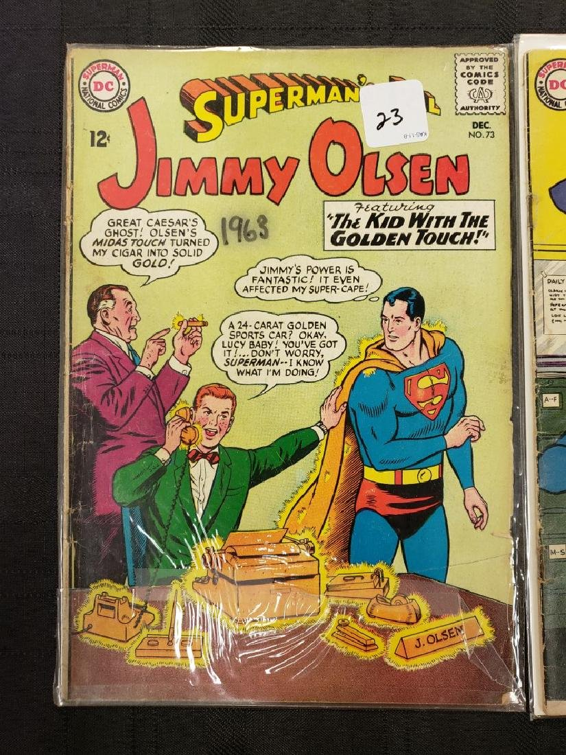 "Lot of Two DC Superman National Comics ""Superman's Pal - 3"