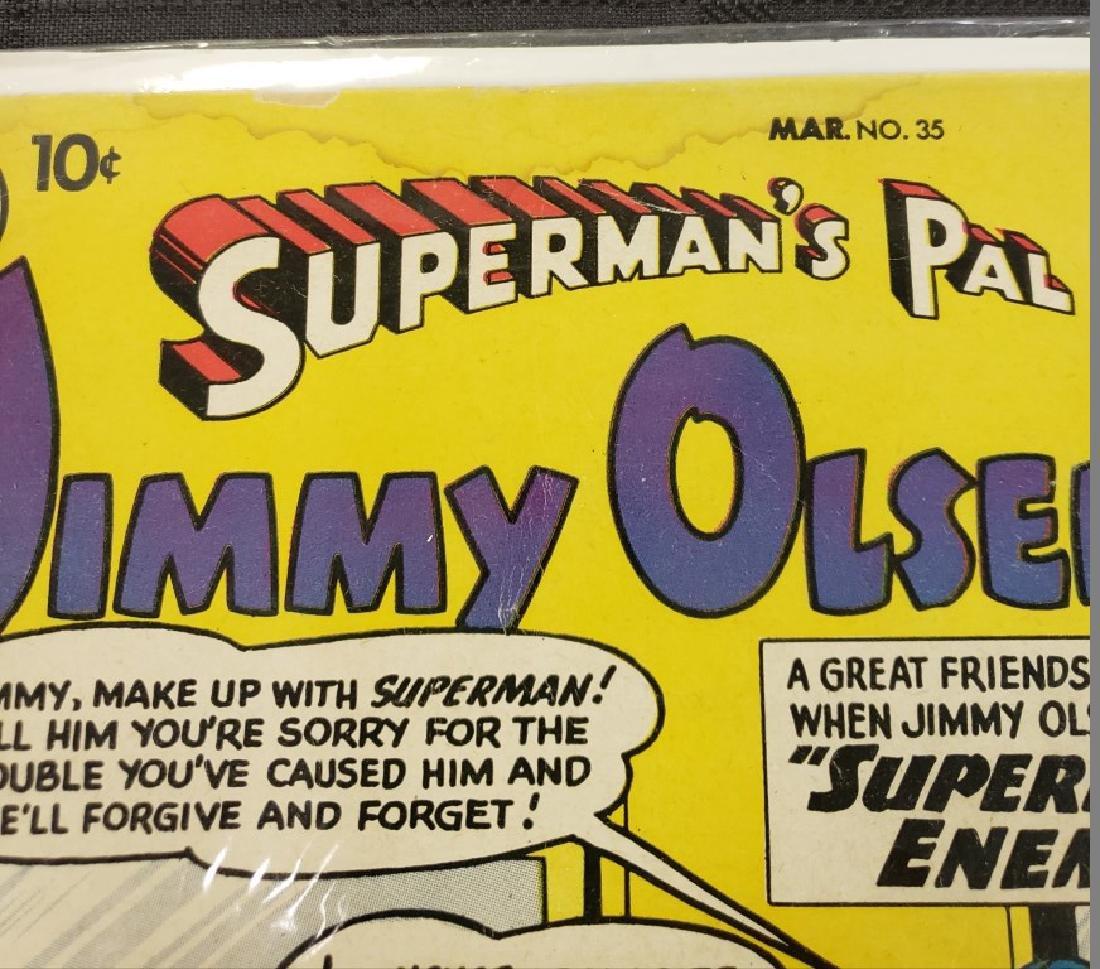 "Lot of Two DC Superman National Comics ""Superman's Pal - 5"
