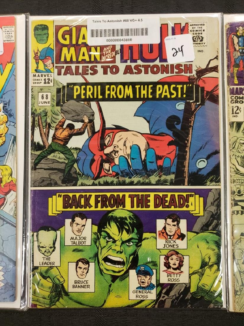 """Lot of Four Marvel Comics Group """"Journey Into Mystery"""", - 3"""