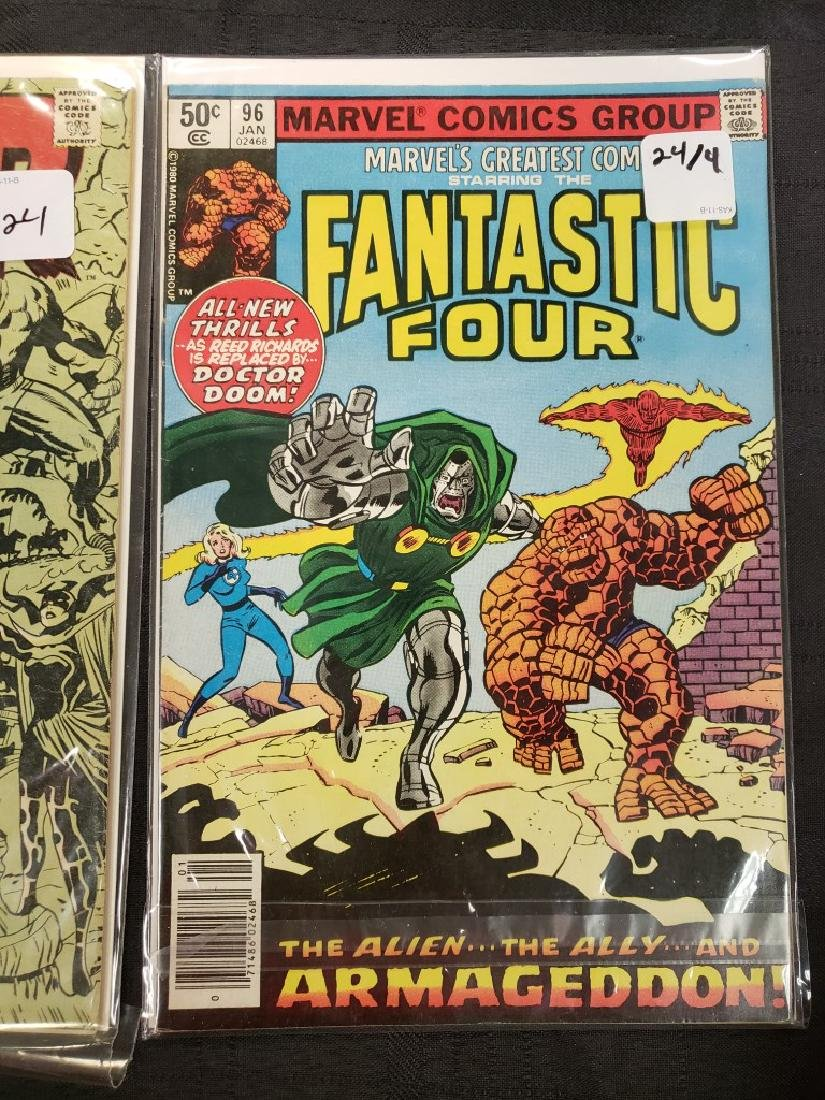 """Lot of Four Marvel Comics Group """"Journey Into Mystery"""", - 5"""