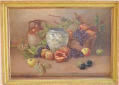 Italian School mid20th century oil on canvas Still