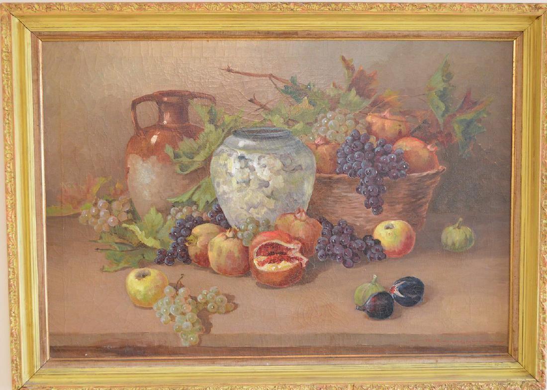 Italian School mid-20th century, oil on canvas, Still
