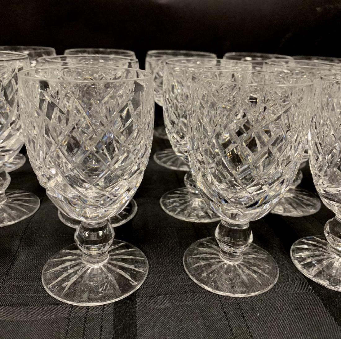 45 Pieces Waterford Crystal Stemware.  12 Stems Ht.  4 - 2