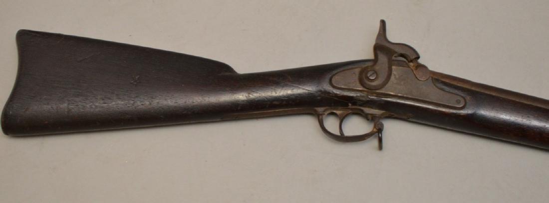Antique rifle Springfield-impressed 1863, flintlock - - 2