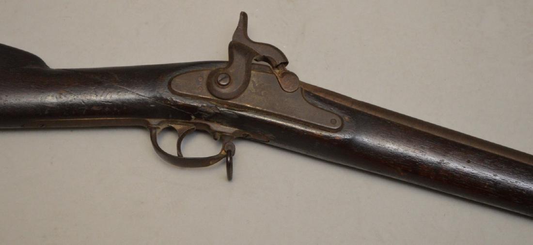 Antique rifle Springfield-impressed 1863, flintlock - - 3