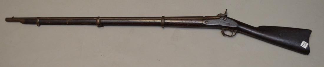 Antique rifle Springfield-impressed 1863, flintlock - - 5