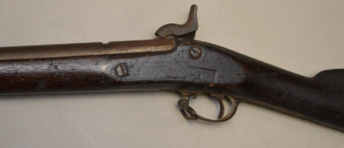 Antique rifle Springfield-impressed 1863, flintlock - - 7