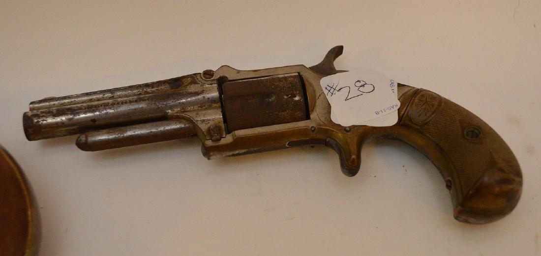 Antique Flare gun Scharmulys - Sold with 5 Shot - 8