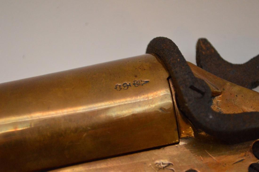 Antique Flare gun Scharmulys - Sold with 5 Shot - 9
