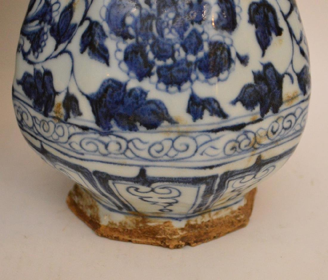 3 Chinese Porcealin Articles.  Porcelain Vase with - 3
