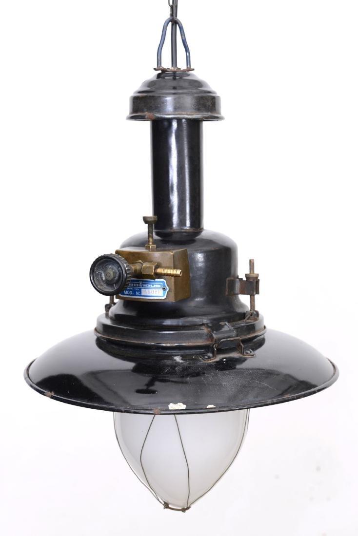 Industrial Gas Pendant Origin: ItalyCirca: 1950 - 2