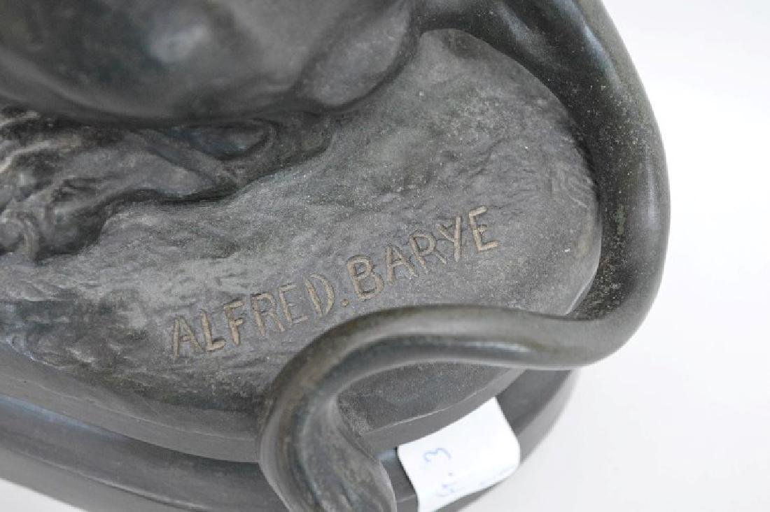 After Alfred Barye (FRENCH, 1839–1882) Bronze Lion - 4