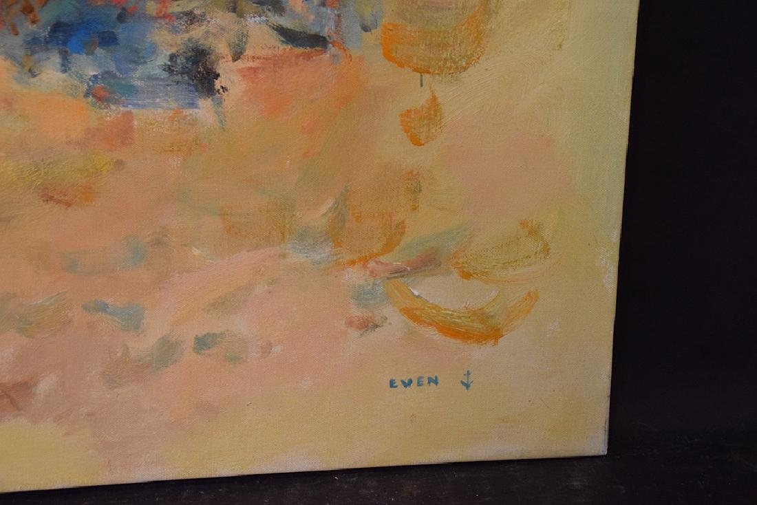 20th Century French Large oil on canvas NOIRMOUNTIERS- - 2