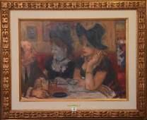 Robert Phillips American born 1946 oil on canvas