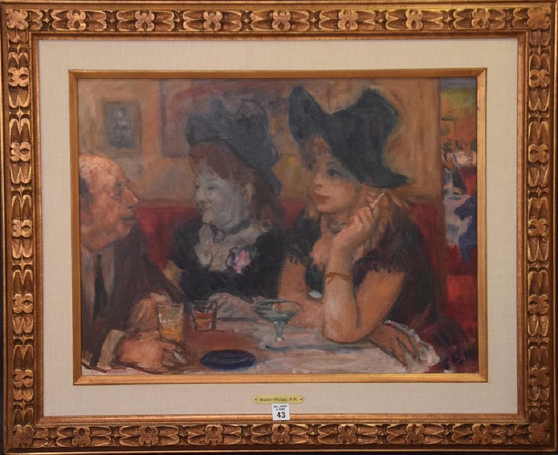 Robert Phillips (American born 1946) oil on canvas,