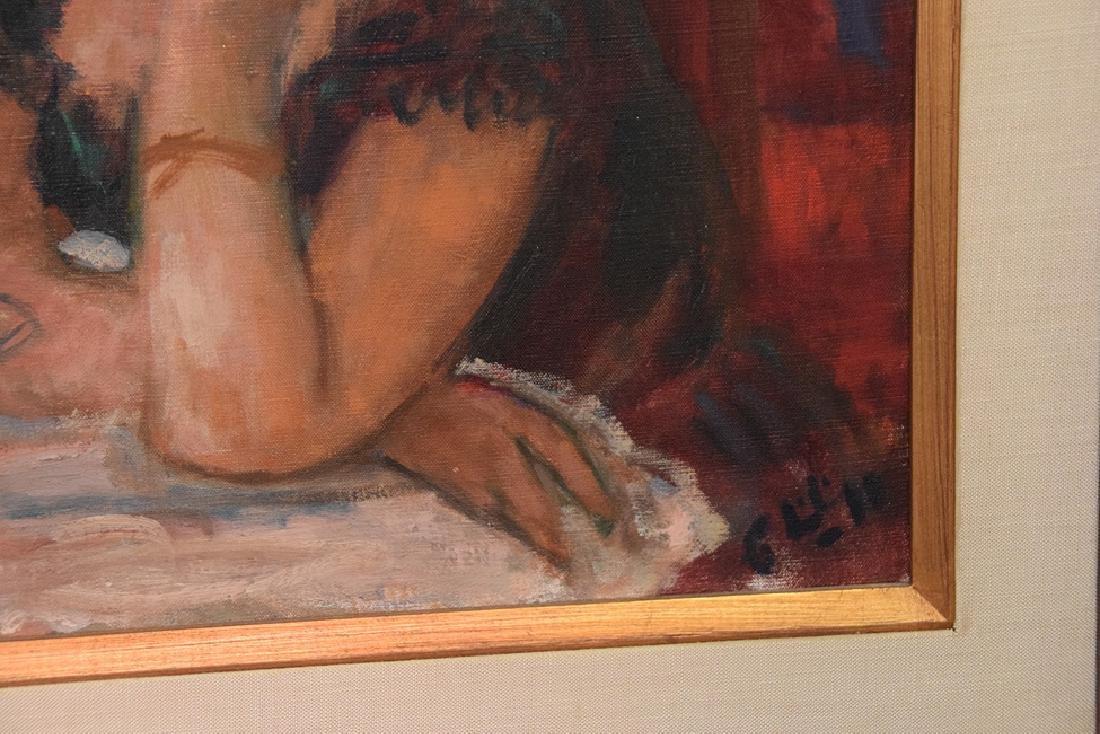 Robert Phillips (American born 1946) oil on canvas, - 2