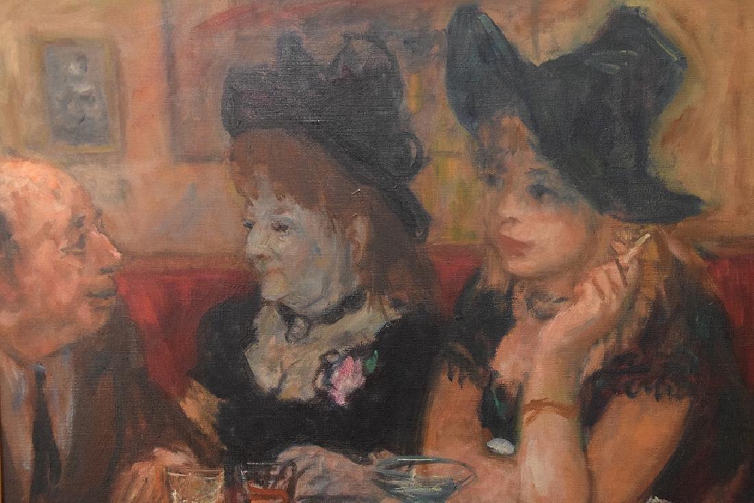 Robert Phillips (American born 1946) oil on canvas, - 3