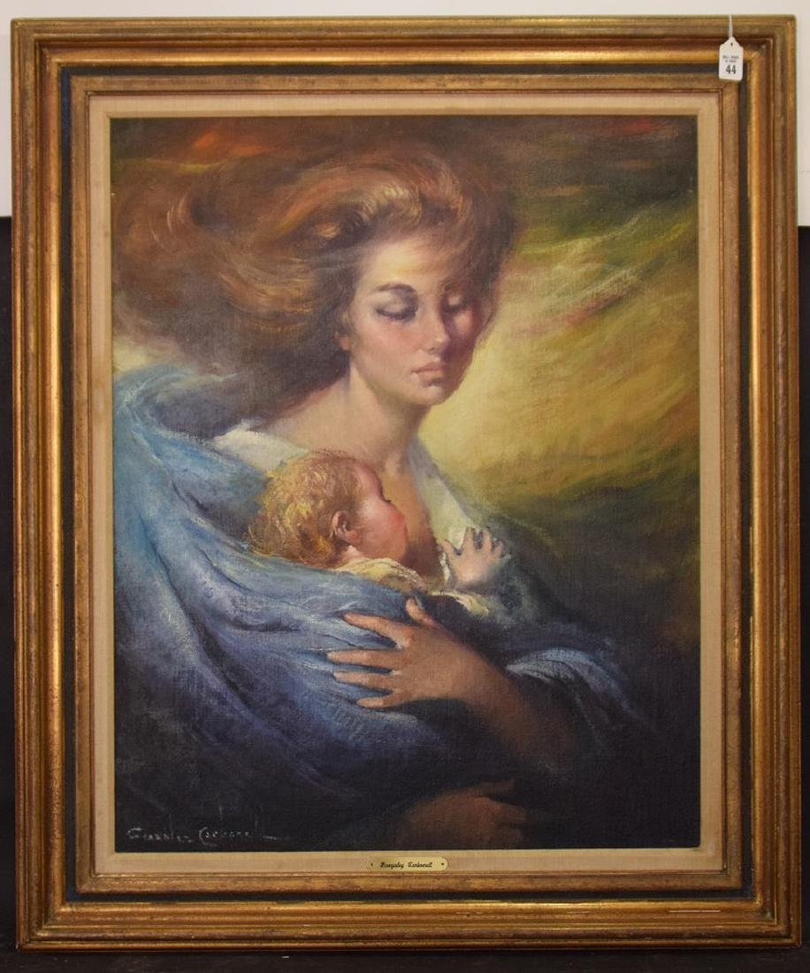 Gonzales Carbonell (20th century Spain) oil on canvas,