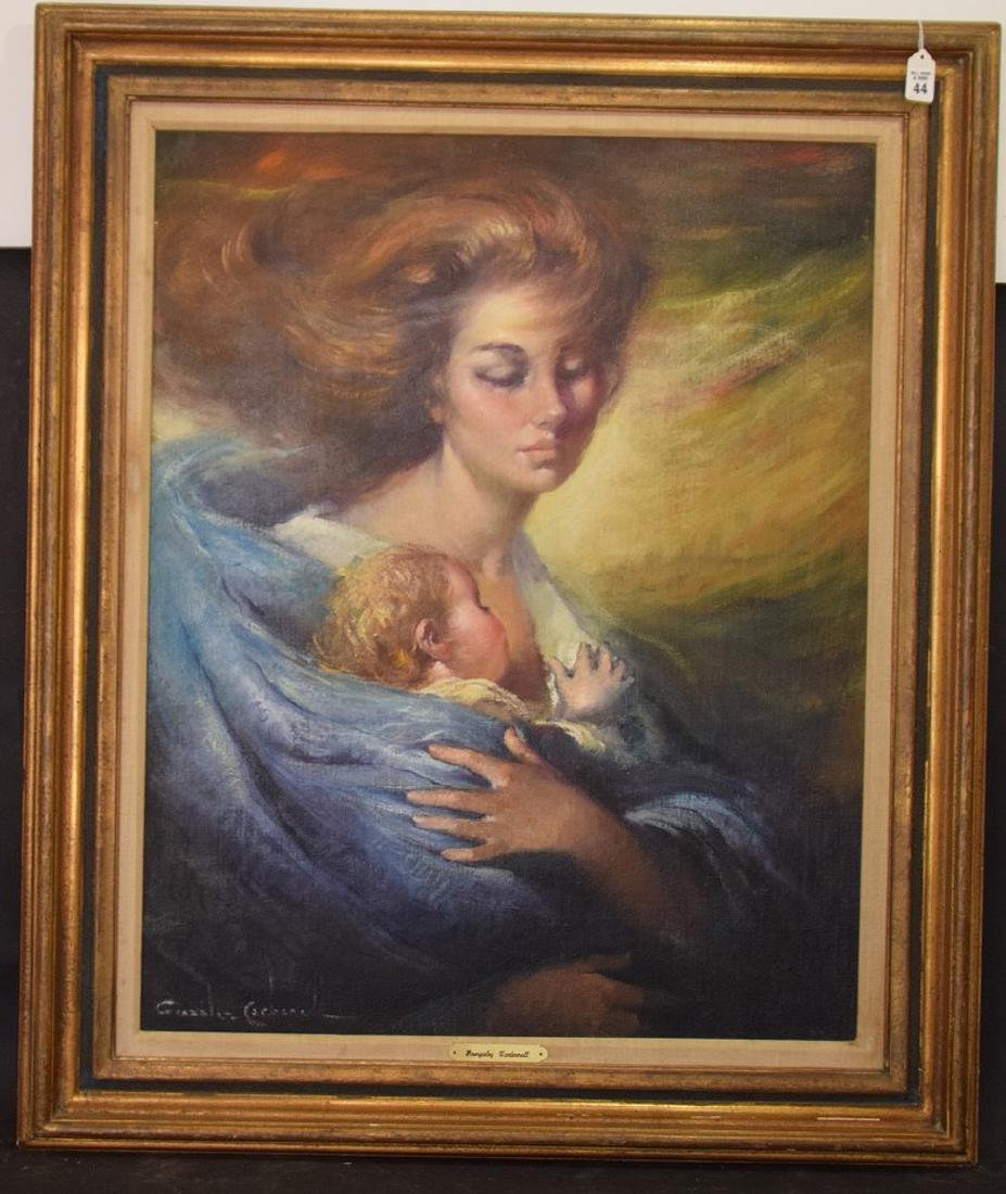 Gonzales Carbonell (20th century Spain) oil on canvas, - 3