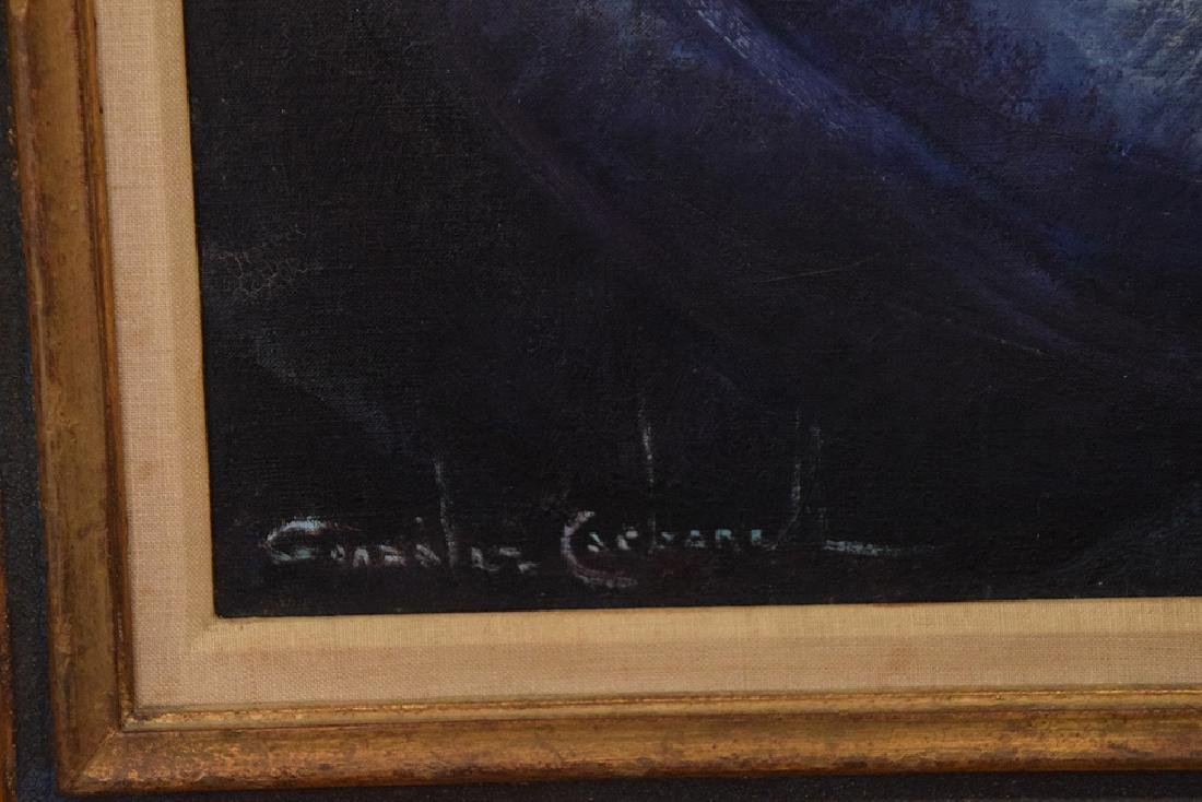 Gonzales Carbonell (20th century Spain) oil on canvas, - 4
