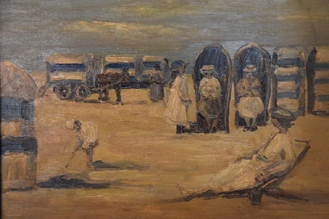 Louis van der Pol (Dutch, 1896-1982) on the beach, - 2
