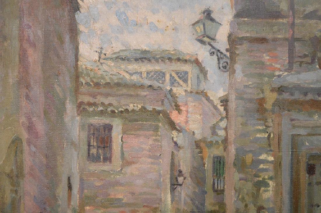 """Joaquin Capulino Jauregui (Spain 1879-1969) """"Calle del - 2"""