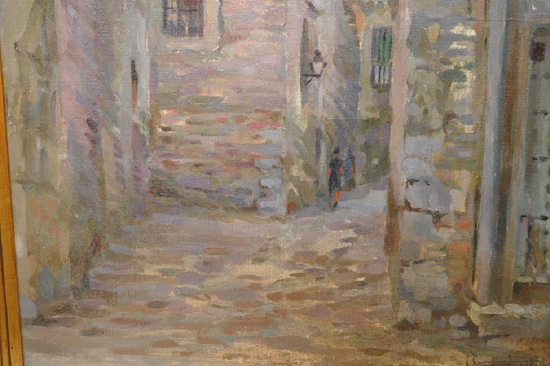 """Joaquin Capulino Jauregui (Spain 1879-1969) """"Calle del - 3"""