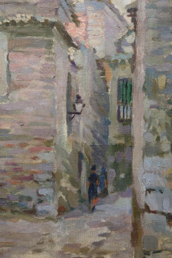 """Joaquin Capulino Jauregui (Spain 1879-1969) """"Calle del - 7"""