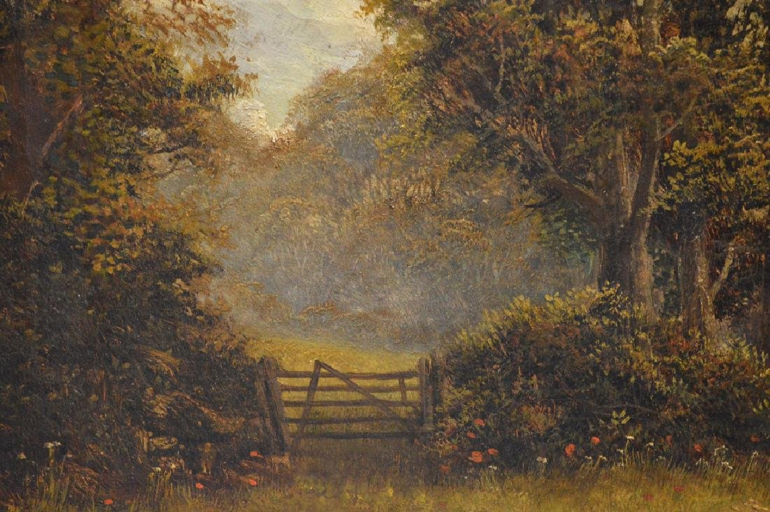 Charles H. Passey (British 1818-1895) oil on canvas, A - 8