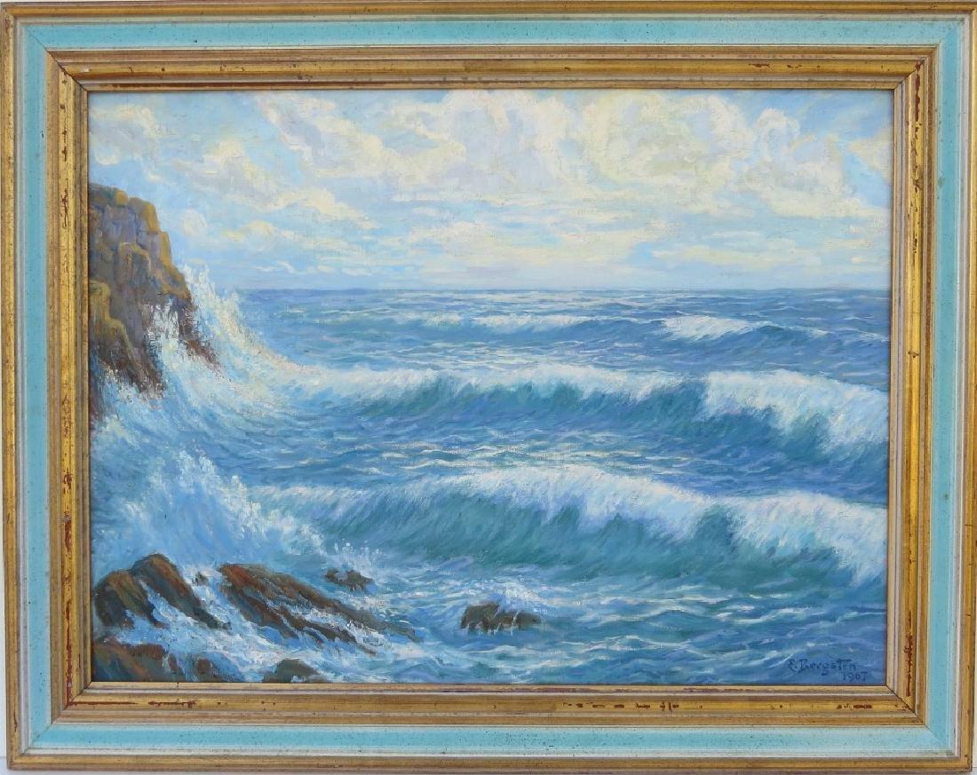 EINAR BERGSTEN, (Sweden, 1886-1970), Oil/Canvas, Rocky