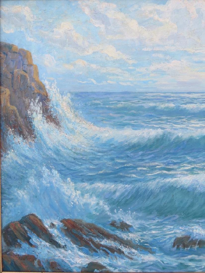 EINAR BERGSTEN, (Sweden, 1886-1970), Oil/Canvas, Rocky - 3
