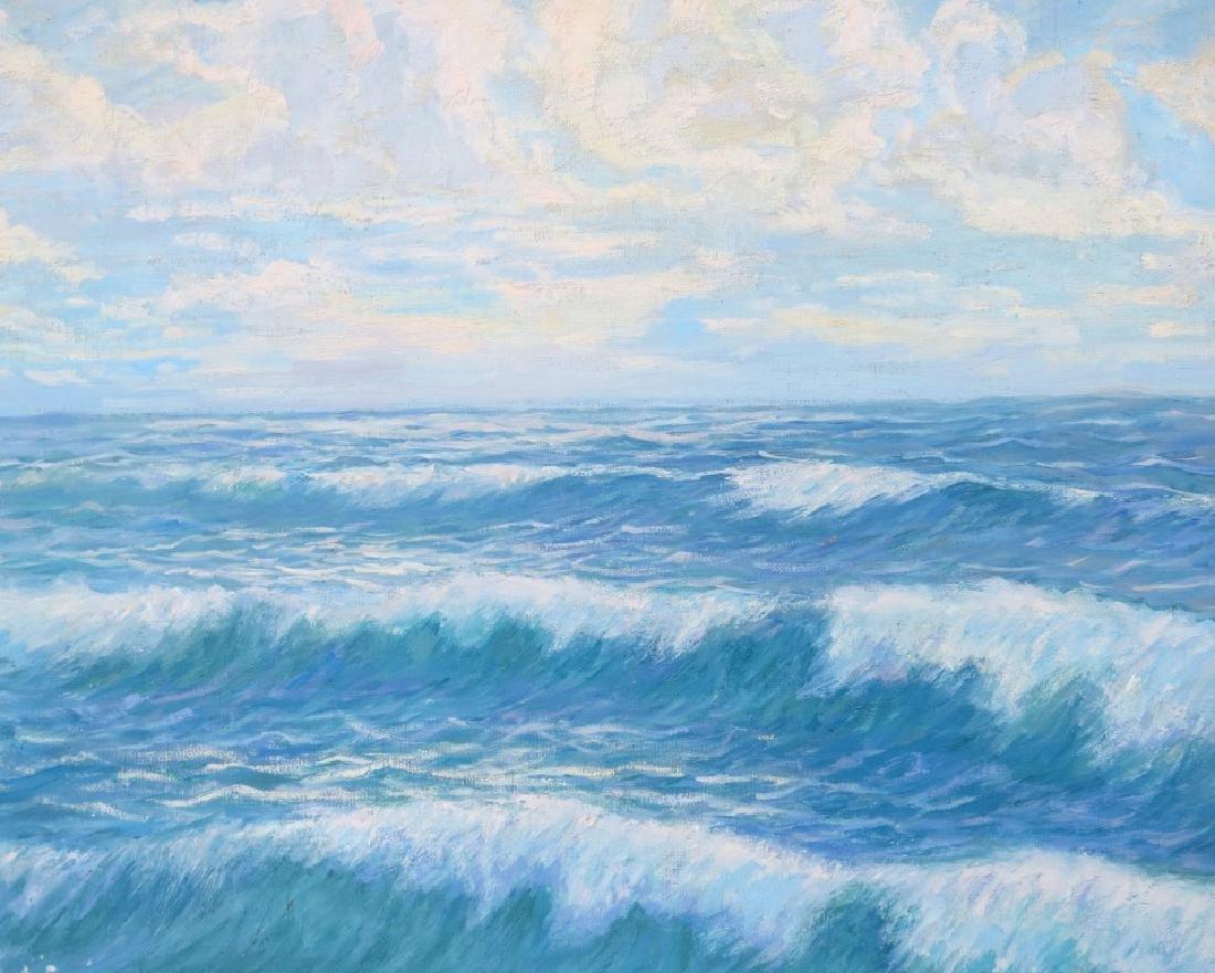EINAR BERGSTEN, (Sweden, 1886-1970), Oil/Canvas, Rocky - 4