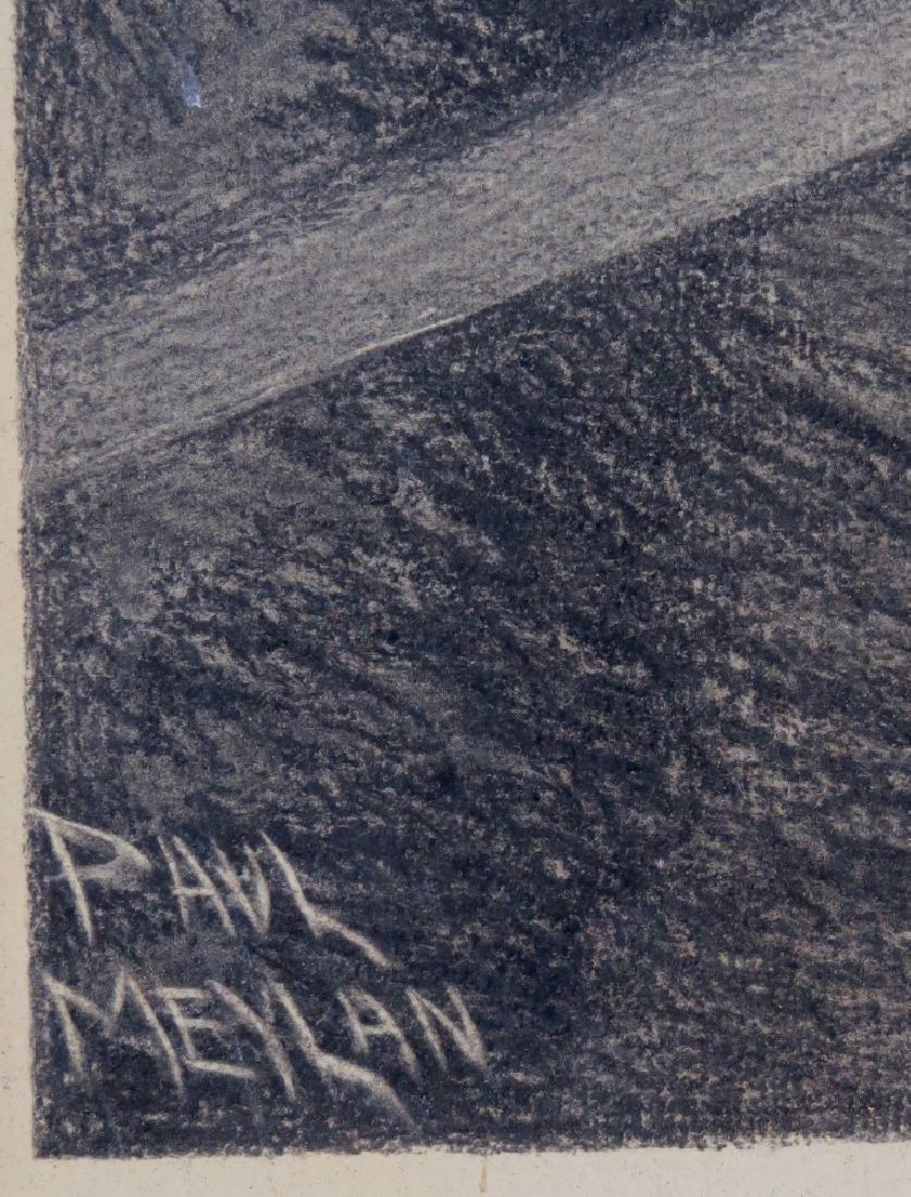 PAUL MEYLAN, (New York, 1882-1962), Charcoal and Chalk - 4