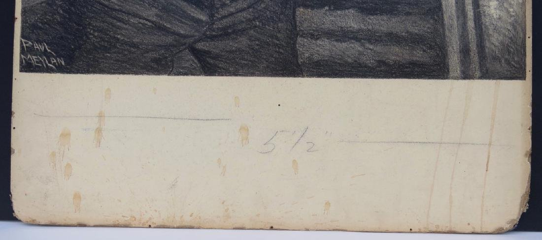 PAUL MEYLAN, (New York, 1882-1962), Charcoal and Chalk - 5