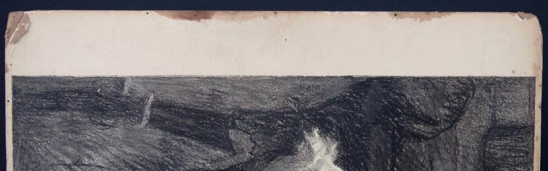 PAUL MEYLAN, (New York, 1882-1962), Charcoal and Chalk - 6