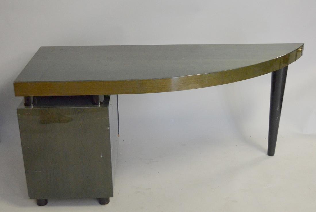 "2 pc. Laminate modern desk, Pace, 29 1/4""h x 65""w x 26"""