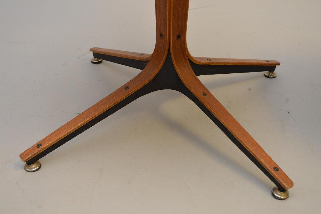 "Triangular shape table (16""h x 18""w)  with Plycraft - 5"