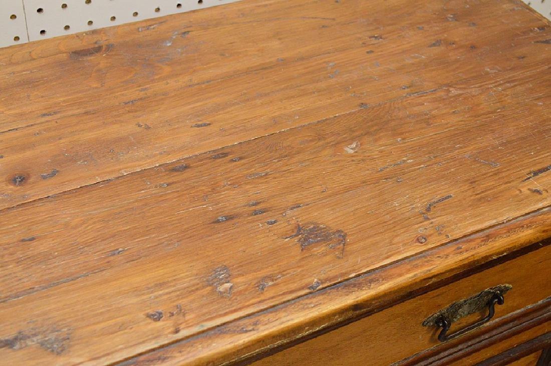 "Pine 4 drawer chest, 36 1/2""h x 44""w x 16 1/2""d - 4"