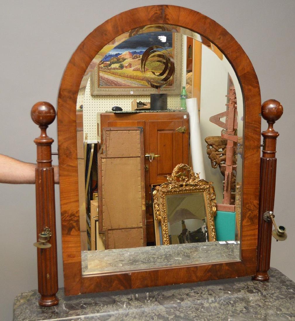 Louis Phillipe Vanity Table with Mirror, marble top, 29 - 3