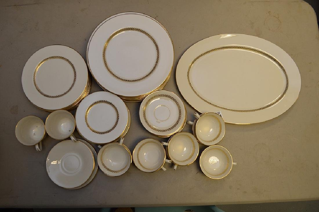 Lenox china, Imperial, incl; 13 dinner plates, 11 salad