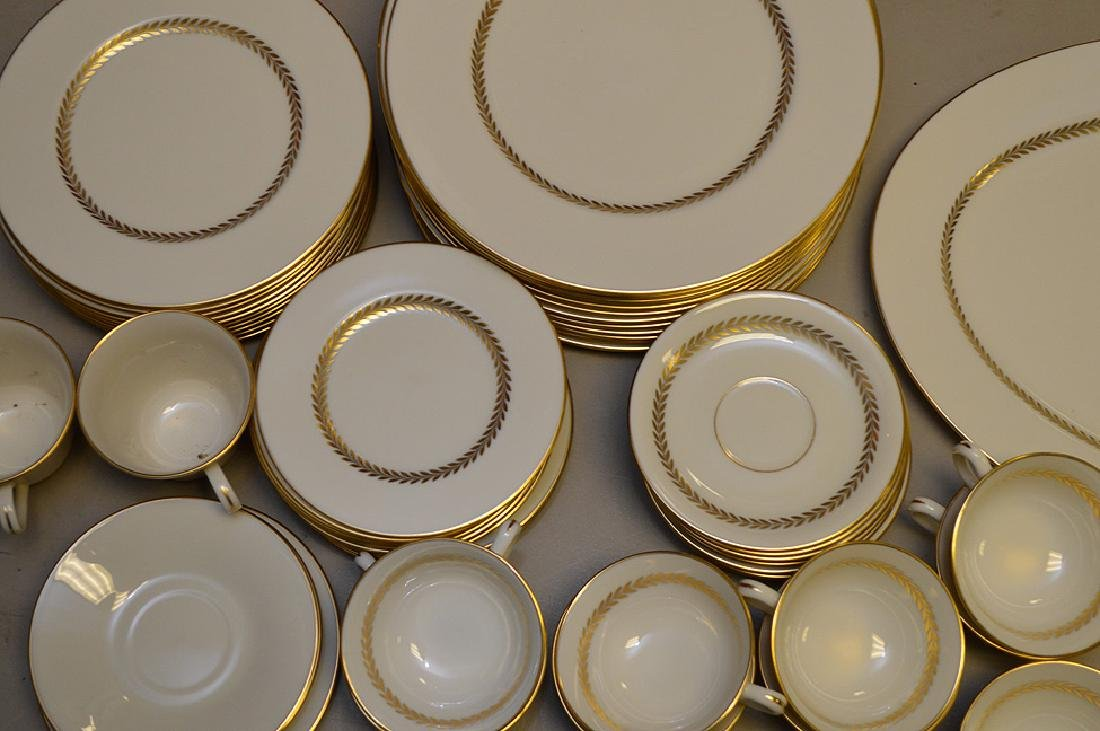 Lenox china, Imperial, incl; 13 dinner plates, 11 salad - 2