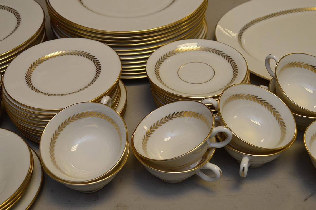 Lenox china, Imperial, incl; 13 dinner plates, 11 salad - 3