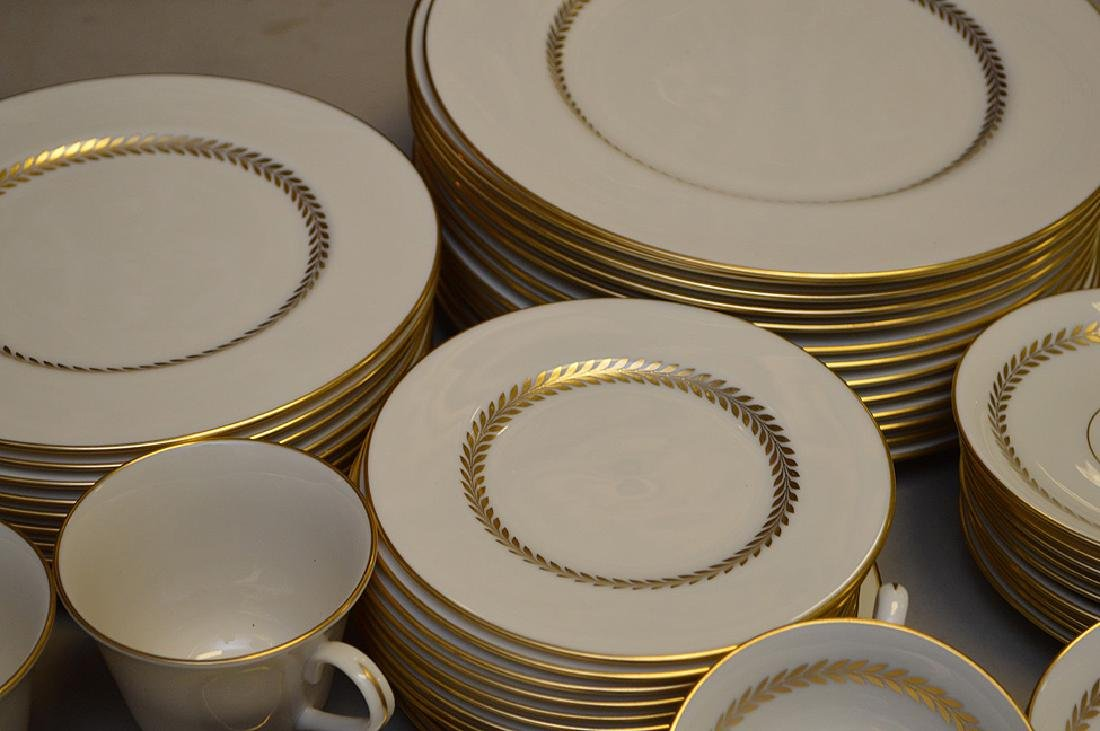 Lenox china, Imperial, incl; 13 dinner plates, 11 salad - 4