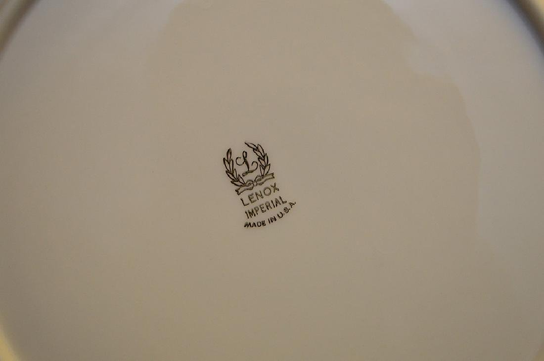 Lenox china, Imperial, incl; 13 dinner plates, 11 salad - 5