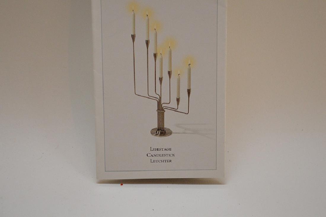 Piet Hein Lysestage Candlestick Leuchter.  Condition: - 9