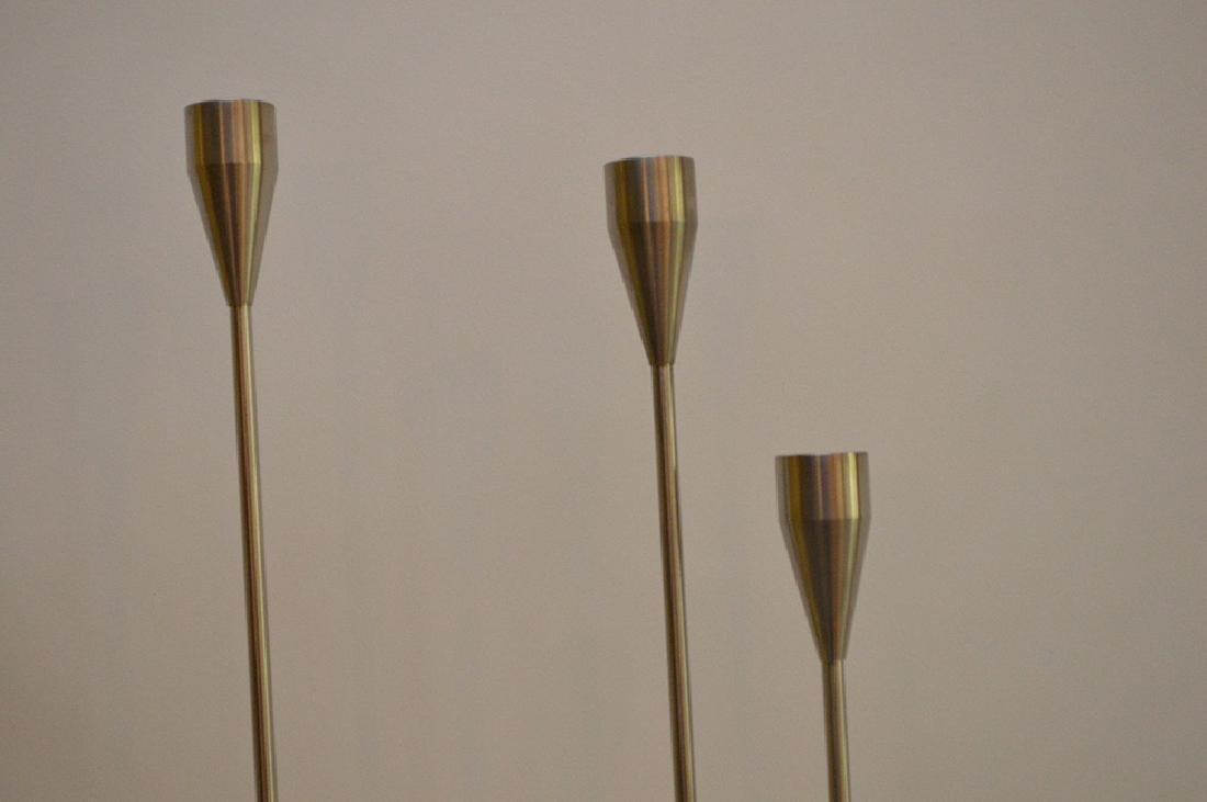 Piet Hein Lysestage Candlestick Leuchter.  Condition: - 3