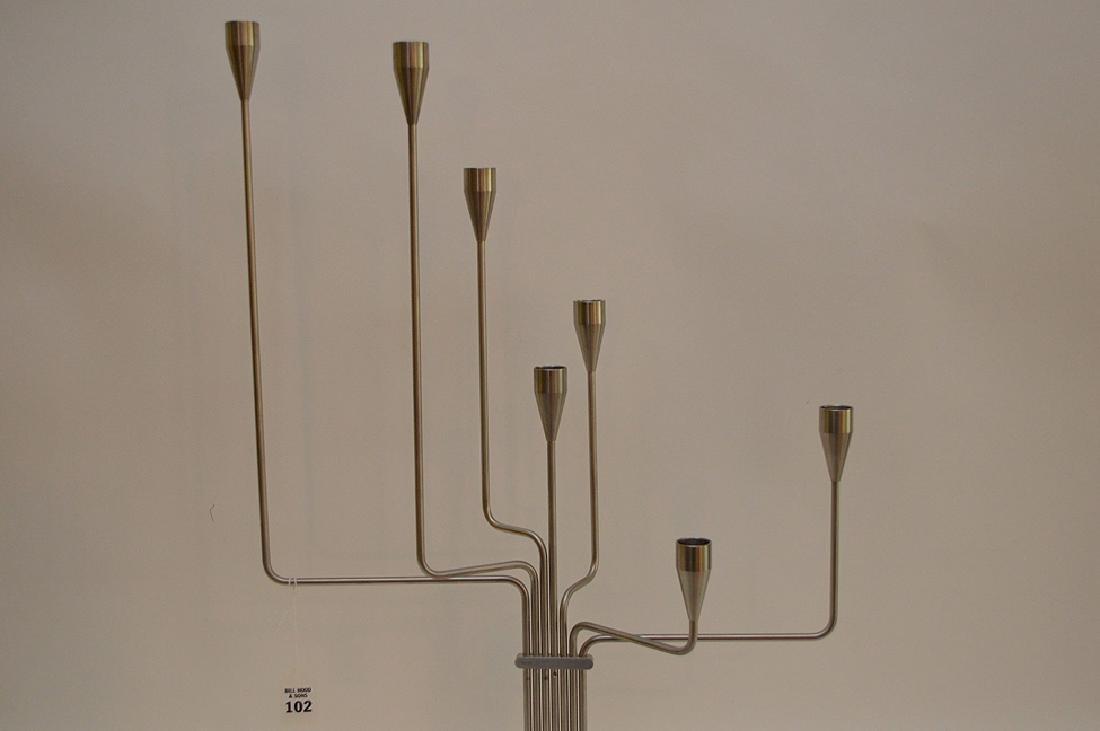 Piet Hein Lysestage Candlestick Leuchter.  Condition: - 5