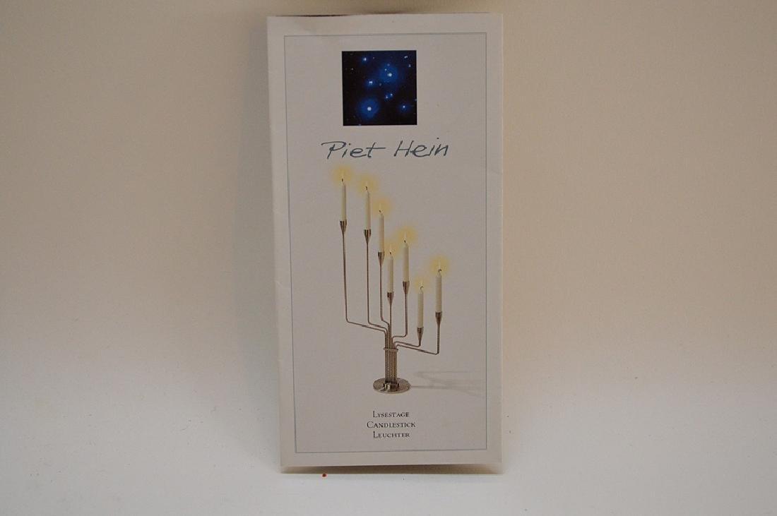 Piet Hein Lysestage Candlestick Leuchter.  Condition: - 7